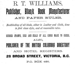 1891 advertisement