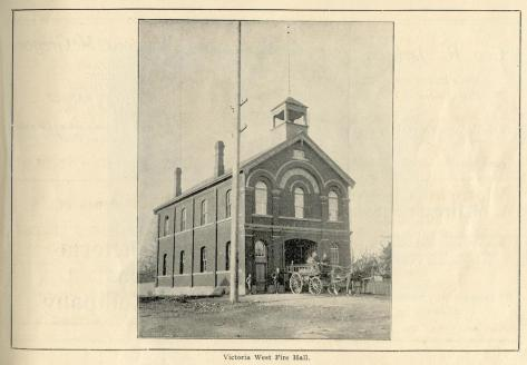 Fire Hall in Vic West
