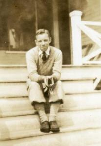 My grandfather in 1927 (looking very poet like)