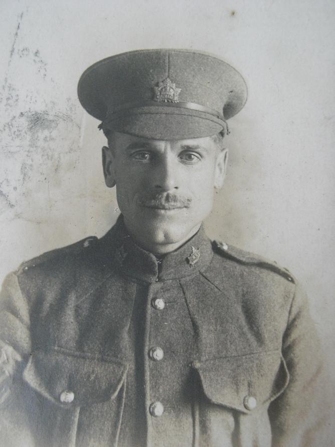 Sgt. Thomas A. Narraway, M.M. - 50th Battalion C.E.F.