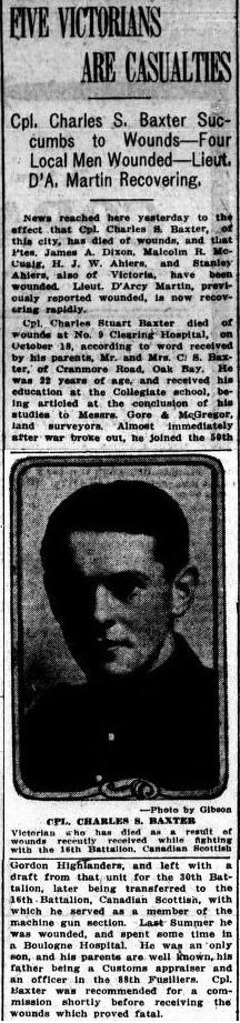 British Colonist Nov. 2, 1916