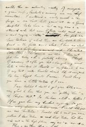 Frank's letter to Frieda (page 2)