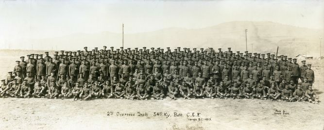 54th Battalion 2nd Overseas Draft