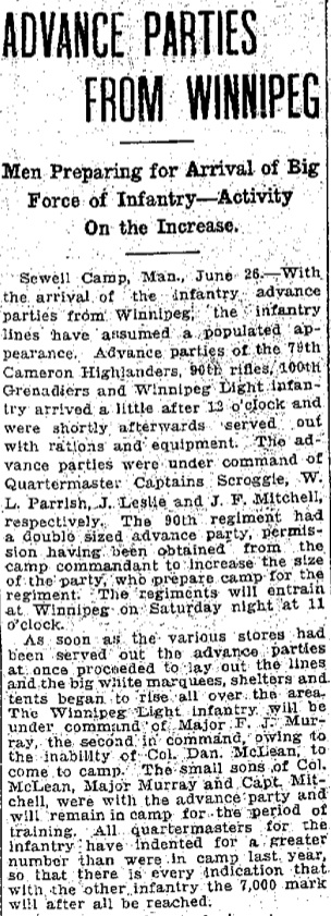 Winnipeg Free Press - 27 June 1914