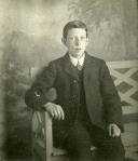 A young John Denholm in Scotland