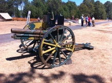 Captured German Field Gun