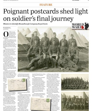 WW1 Postcard Feature