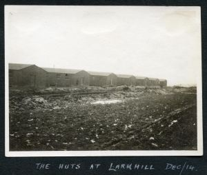 Lark Hill Huts December 1914