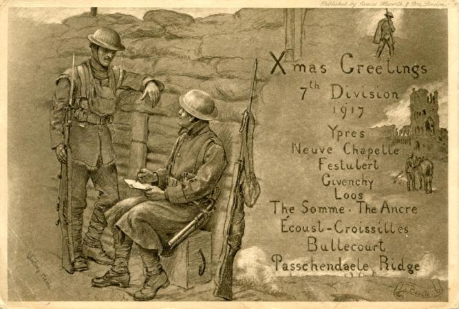 7th Division Christmas Card