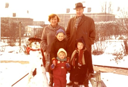 Thomas Harold Chapman and Family Circa 1962