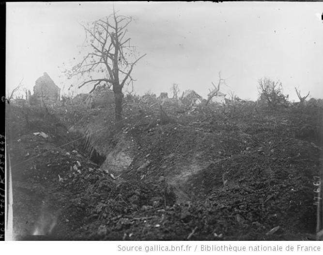 Montauban [-de-Picardie, Somme] France, 1916