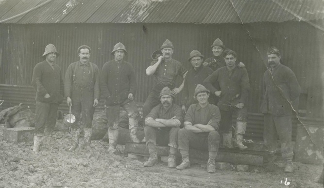 16th Battalion Cooks at Lark Hill Camp