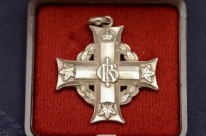 Pte Percy Fisher's Memorial Cross