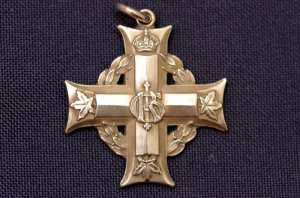 The Silver Cross given to Percy Fisher's Mother