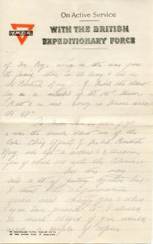 George Fisher letter, page 3