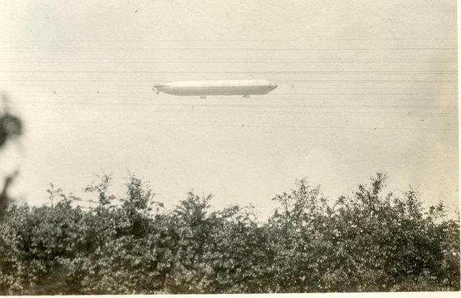 Britain's first rigid Airship designed by H.B. Pratt and Barnes Wallace (click to view)