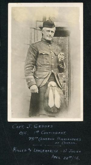 Captain John Geddes