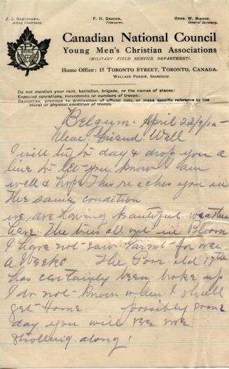 April 22, 1915 page 1