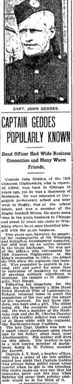 Winnipeg Free Press, April 26 1915