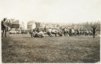 Sports Day at Hastings Cricket Ground on Whit Monday 1917