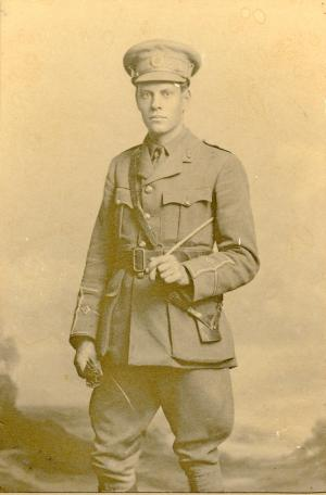 Lt John Keith Bousfield MC, Royal Engineers