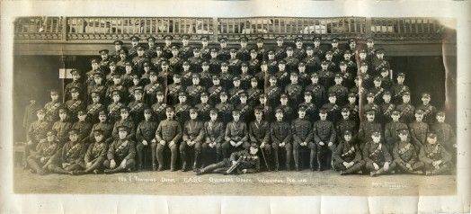 No. 1 Training Depot, Canadian Army Service Corps, Overseas Draft, Winnipeg Feb 1916