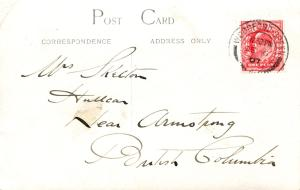 postmarked Woodford Green and posted 6 Dec 1907
