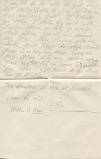 Letter dated 1 Dec 1918, page 2