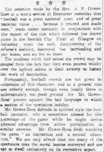 Sheffield Evening Telegraph, 19 Apr 1909. Source: British Newspaper Archive