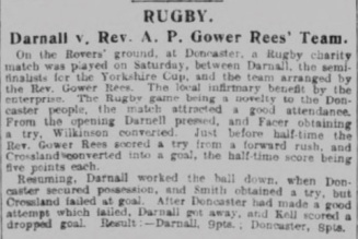 Sheffield Daily Telegraph, 16 May 1910. Source: British Newspaper Archive
