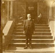Rev. A.P. Gower-Rees at Thornleigh (Vicarage at St. James Church)