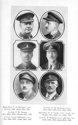 Officers of the 14th Battalion (Source: The Royal Montreal Regiment, 14th Battalion, C.E.F., 1914-1925)