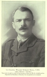 William Senkler Buell, 4th Battalion (Source: Patriots, Crooks & Safety Firsters)