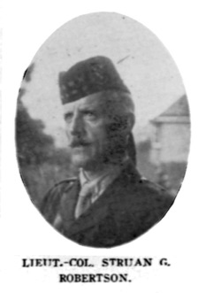 Struan G Robertson, 17th Battalion (Source: Lieutenant-Governor of Nova Scotia)