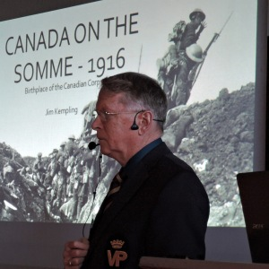 "Jim Kempling, ""Canada on the Somme - 1916"""