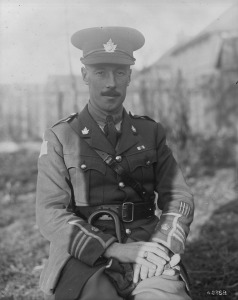 Major George R Pearkes. Source: Canada. Dept. of National Defence/Library and Archives Canada/