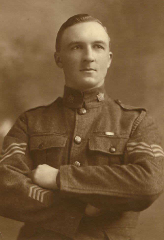 Sgt. Thomas Diplock, 7th (1st British Columbia) Battalion CEF