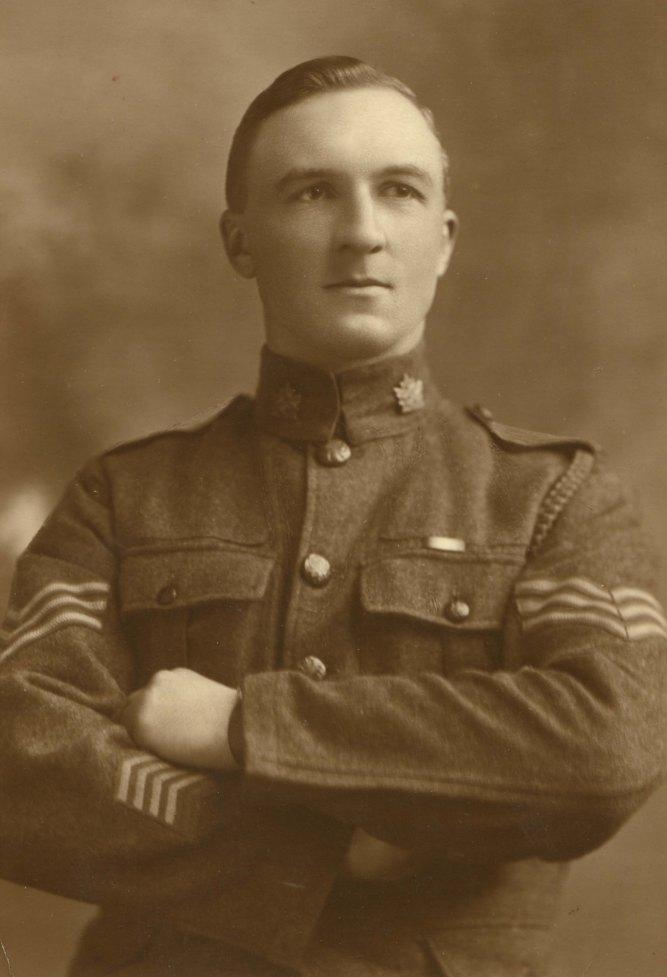 Sgt. Thomas Diplock, 7th (1st British Columbia) Battalion CEF