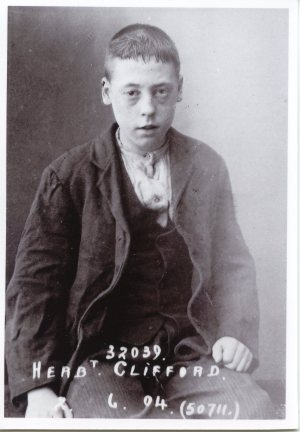 Herbert Clifford in 1904 (Courtesy of Barnardo's)