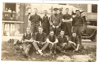 The No. 2 Canadian General Hospital Baseball team. Courtesy: M. I. Pirie collection.