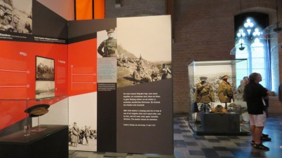 Two of my 16th Battalion photos on display