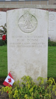 2nd Lt. Frank Dunn from Victoria, BC