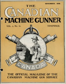 The Canadian Machine Gunner, Vol. 1 No. 16, November 1918. Source: Library and Archives Canada