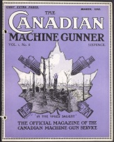 The Canadian Machine Gunner, Vol. 1 No. 8, March 1918. Source: Library and Archives Canada