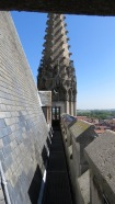 Breathtaking views from the Cloth Hall Bell Tower, Ypres