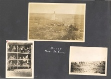 Archie Wills Photograph Album, image 8. Source: Victoria to Vimy Exhibit UVic Library Special Collections