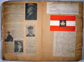 Brig. General W.O.H. Dodds Scrapbook, image 54. Source: Victoria to Vimy Exhibit UVic Library Special Collections