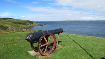 9-pounder from 18th Century Battery at St. Mary's, Newfoundland