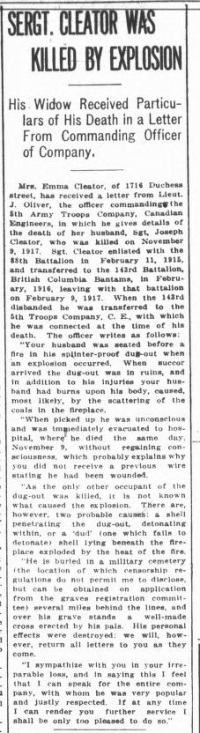 British Colonist 13 Feb 1918