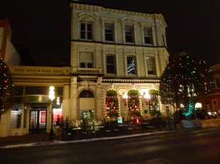 The Bard and Banker pub (the bard was former bank employee Robert W. Service)